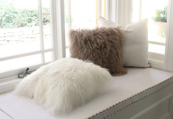 Tibetan pillows bring luxury into any room