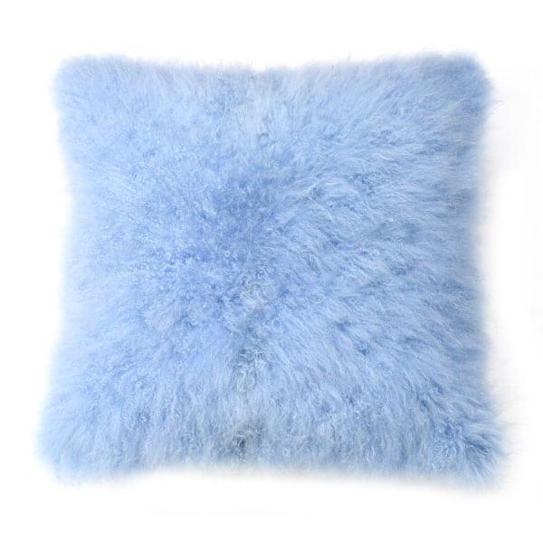 Cashmere Hide pillow blue