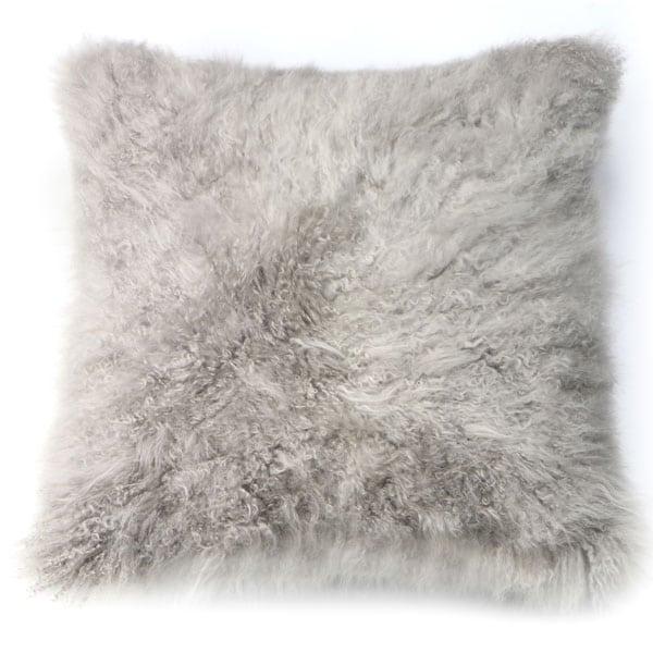 Cashmere Hide pillow silver