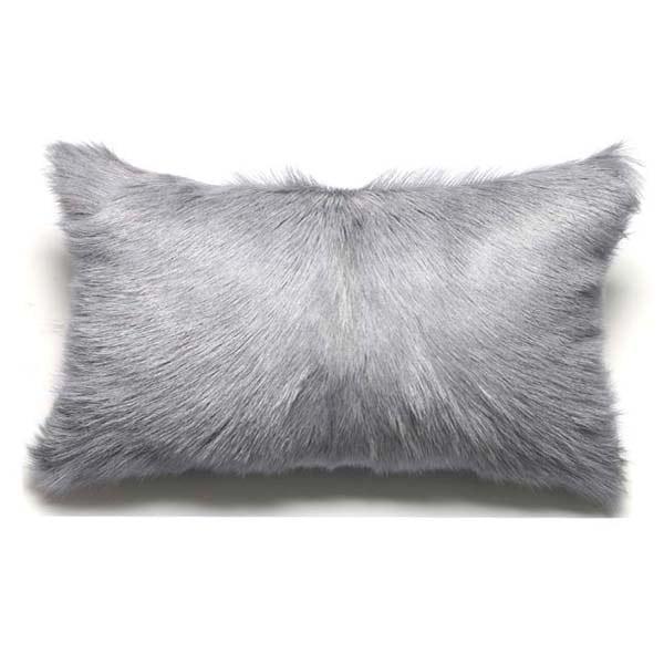 Goatskin Cushions Grey