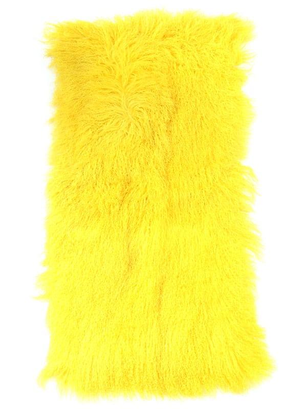 Mongolian Fur Plate yellow