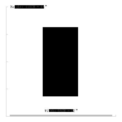 Cashmere Goat Skin size 55X110CM