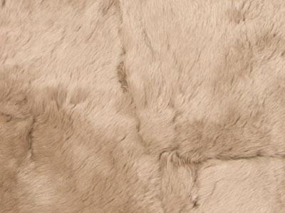 Rabbit Fur Plate color swatch wheat