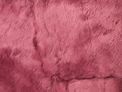 Rabbit Fur Plate color swatch wine