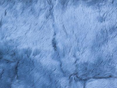 Rabbit Fur Plate color swatch blue
