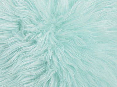 Australian sheepskin Fur Chair Pad forest